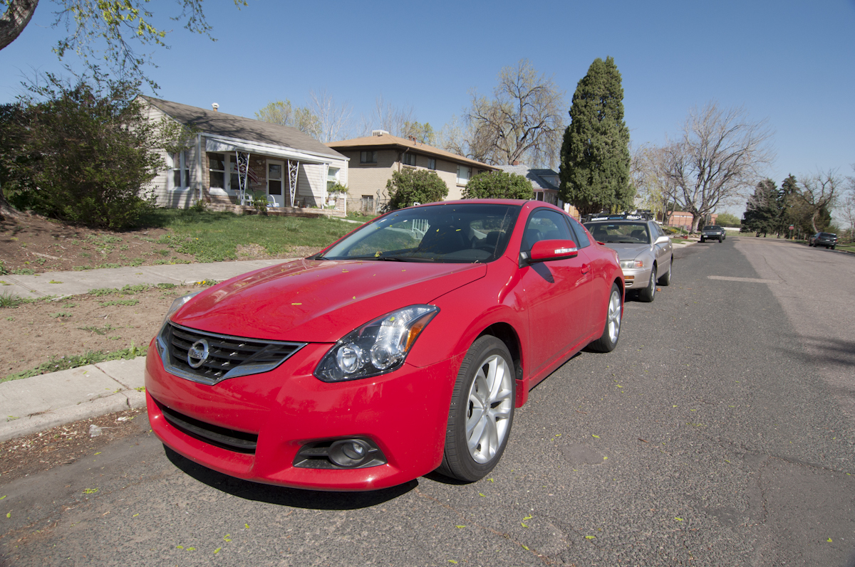 2012 nissan altima 3 5 sr coupe review review gear grit. Black Bedroom Furniture Sets. Home Design Ideas