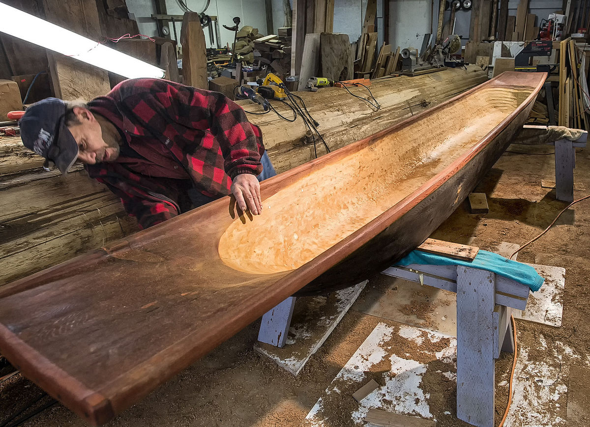 How a Modern Dugout Canoe is Made — Gear & Grit