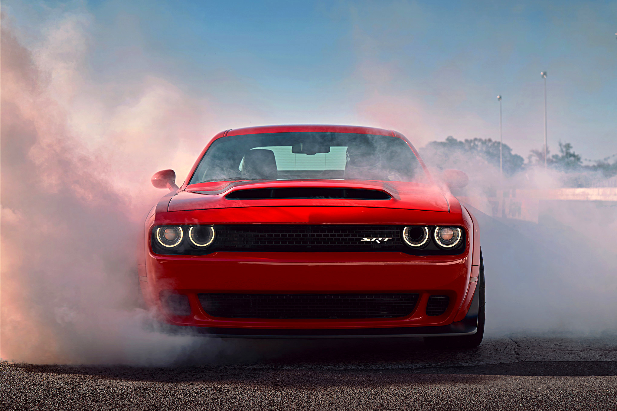 the 2018 dodge challenger srt demon is so powerful it will do wheelies gear grit. Black Bedroom Furniture Sets. Home Design Ideas